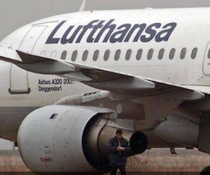 """""""لوفتهانزا"""" تتعثر و تطلب 9 مليارات يورو من الصندوق الاقتصادى الألماني"""