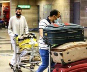 مطار القاهرة يستقبل رحلة استثنائية تقل 195 مصريا عالقا بالكويت