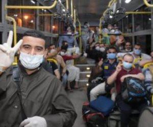 العائدون من الكويت: الفوج العاشر يصل مدينة طلاب جامعة القاهرة