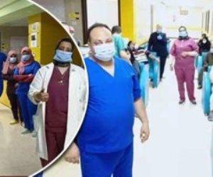 مستشفى إسنا للحجر الصحى.. بطولات جديدة للجيش الأبيض (صور)