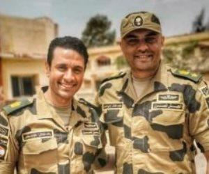 """أحمد صلاح حسنى على تويتر: """"العقيد رامى حسنين.. تحيا مصر"""""""
