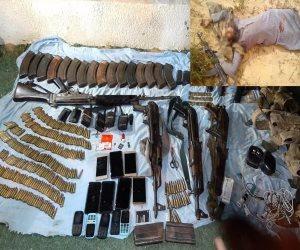 القوات المسلحة تعلن مقتل 13 تكفيريا وتفجير 4 أحزمة ناسفة بشمال سيناء