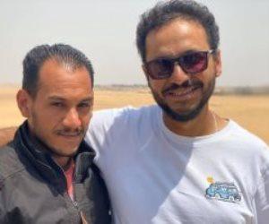 """بيتر ميمى يستعين بالمجند خالد على موسى بطل """"موقعة البرث"""""""
