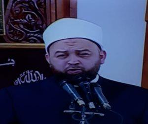 خطيب صلاة العيد: لا بد من التعاون وفعل الأعمال الصالحة لمواجهة كورونا