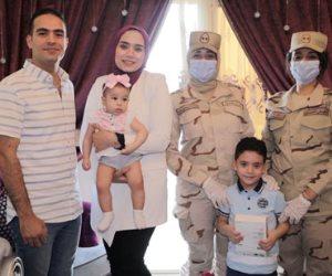 بمناسبة عيد الفطر.. الرئيس السيسي يقدم هدايا عينية ومادية لأبناء وأسر الشهداء والمصابين