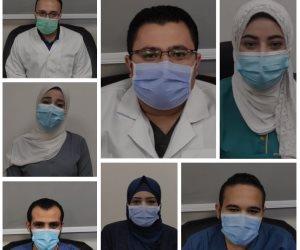 الطاقم الطبي بمستشفى النجيلة للعزل الصحي بمطروح يوثق جهود الدولة لمكافحة كورونا  (فيديو )
