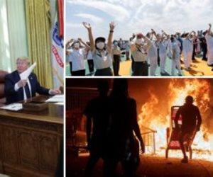 """جولة في صحف العالم.. ترامب يوقع قرارا لتجريد """"السوشيال"""" من الحصانة القانونية"""