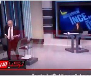 فضيحة جديدة لإعلام تركيا. قطع البث عن مرشح رئاسي سابق انتقد أردوغان والضيف ينسحب (فيديو)