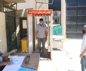 «شمال سيناء» تطبق قرار منع دخول الموظفين والمواطنين للديوان دون كمامة (صور)