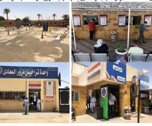 استئناف العمل داخل وحدات الأحوال المدنية والمرور وإدارات الجوازات (صور)