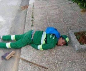 فيديو قديم كشفهم.. الإخوان تروج لصورة عامل نظافة بالمغرب وتدعي وفاته في دمياط بكورونا