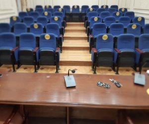 قبل بدء الجلسات في 7 يونيو.. مجلس النواب يراجع الإجراءات الوقائية تحسباً لفيروس كورونا (صور)