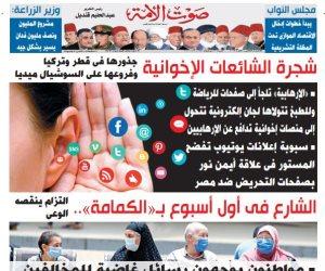 اقرأ في عدد صوت الأمة الجديد: شجرة الشائعات الإخوانية.. جذورها في قطر وتركيا وفروعها على السوشيال ميديا
