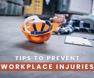المراقبة ومعدات الحماية.. نصائح لمنع الإصابات والحوادث في مكان العمل
