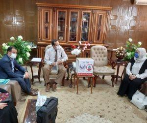 جمعيات أهلية في سيناء تتبرع بمستلزمات طبية لدعم الصحة ومرضى كورونا (صور)