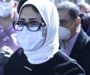 وزيرة الصحة تقيل مدير مستشفى المطرية التعليمى بعد وفاة مريض سودانى