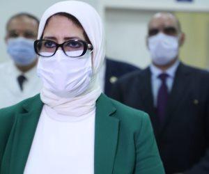 وزيرة الصحة تتوجه إلى سوهاج لمتابعة حالة مصابي حادث قطاري طهطا