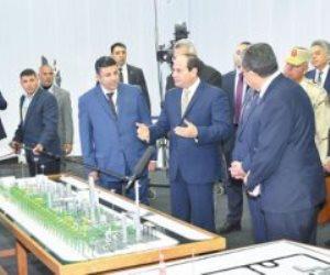 سنوات الكفاح والعمل.. السيسي يحول مصر من مستورد للغاز إلى مصدر  ب7.2 مليار قدم مكعب يوميا