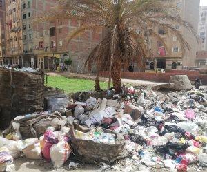 استغاثة من سكان أرض اللواء: أدخنة القمامة تخنق مرضى العزل المنزلي وتهدد بكارثة