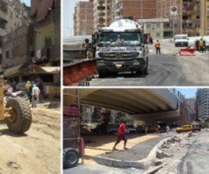 للقضاء على التكدس المروري.. العاصمة تستكمل خطط تطوير الطرق