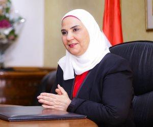 وزيرة التضامن تعلن تحمل الوزارة قيمة وسائل النقل العام لكبار السن