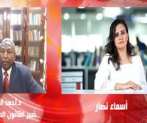 """خبير سدود سوداني: سد النهضة سيزيد أزمة السودان في المياه """"ماعندوش ميه يشربها"""" (فيديو)"""