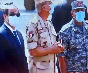 """السيسى لـ""""الشعب الليبى"""": ليس لنا مصلحة إلا أمنكم وتجاوز سرت والجفرة خط أحمر"""