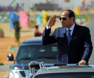 ننشر الكلمة الكاملة للرئيس السيسى خلال تفقده قوات المنطقة الغربية العسكرية