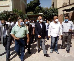 محافظة الجيزة تنتهى من استعدادات استقبال طلاب الثانوية العامة.. صور
