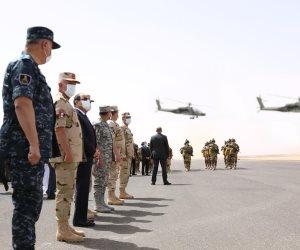 دعم دولي وعربي لبيان السيسي: من حق مصر دعم أمنها وحل الأزمة الليبية