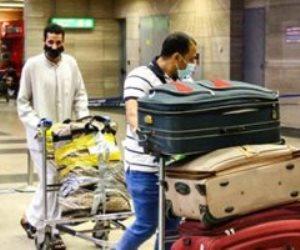 مطار القاهرة يستقبل 930 من المصريين العالقين بعدة دول على متن 5 رحلات