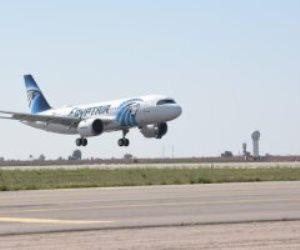 مطار القاهرة يستقبل اليوم 36 رحلة طيران دولى وداخلى لنقل عالقين وبضائع