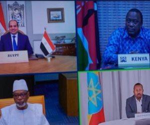القمة الأفريقية تكشف موعد بدء مفاوضات اللجان الفنية حول سد النهضة