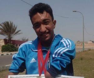 عبد الرحمن وحيد.. نموذج في تحدي الإعاقة.. بطل رياضي ونجم على فيسبوك