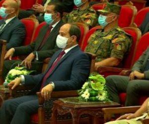 السيسي: قادرون على تحقيق رؤيتنا المضيئة.. وسياسة مصر تأسست على الشرف