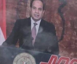 انتشار صور السيسى في شوارع بنغازى الليبية.. وليبيون: مصر قلب الأمة العربية