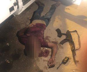 مقتل عنصرين إرهابيين بسيناء وإحباط مخططهم لإفساد احتفالات 30 يونيو (صور)