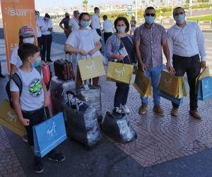 جمارك مطار شرم الشيخ تستقبل أول رحلة طائرة سياحية قادمة من أوكرانيا (صور)