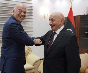 ضربة لاتفاق أردوغان والسراج.. توافق ليبي يوناني على ترسيم الحدود البحرية