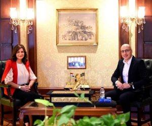 """تفاصيل لقاء وزيرة الهجرة ومدير منصة """"Watch iT"""".. تم الاتفاق على عرض فيلم """"الممر"""" والأعمال الوطنية"""