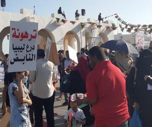 الأحد الاستثنائي.. الليبيون ينتفضون ضد أردوغان في مظاهرات حاشدة يلفها علم مصر (صور)