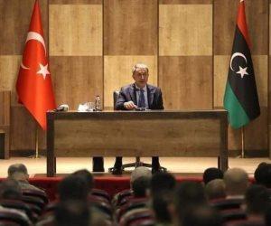 كواليس صفقة بيع ليبيا للأتراك.. إرهابي رئيسا للمخابرات وقاعدتين عسكريتين ونهب أموال الليبيين