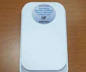 سامسونج الكترونيكس مصر تساهم بـ 30 جهاز Galaxy Sanitizer لتعقيم الهواتف في مستشفيات العزل