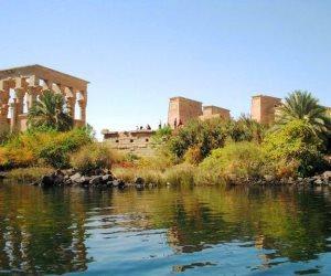 بعد الانتهاء من الإجراءات الاحترازية.. معبد فيلة أهم مزار أثري وسياحي في أسوان .. تعرف عليه