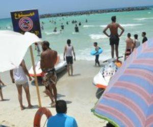 النيابة تغلق شاطئ النخيل وتستدعى المسئولين لبيان المتسبب فى غرق 11 شخص