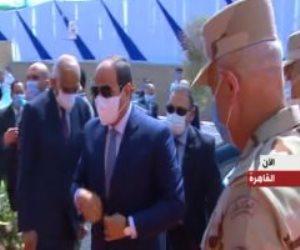الرئيس السيسي يشهد افتتاح عددا من المشروعات القومية والأسمرات 3