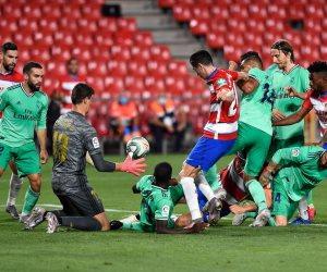 """بفوز صعب ومثير.. ريال مدريد يقترب من تحقيق """"الليجا"""" الـ 34 في تاريخه"""