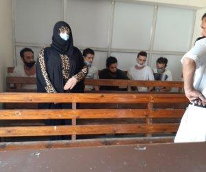 """تجديد حبس """"عبير بيبرس"""" 15 يوم بتهمة قتل زوجها.. والمحامى للمحكمة: الإسعاف أكدت أن الوفاة طبيعية"""