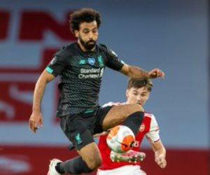 أرسنال يمنع ليفربول من الرقم القياسي بفوز صعب فى وجود صلاح.. فيديو