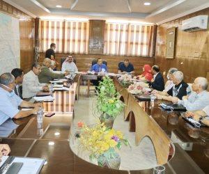 مشروعات تنموية تضم سدود وبحيرات صناعية بوسط سيناء (صور)